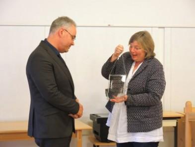 Verleihung Karl-Steinbauer-Zeichen 2016 an Markus Nierth