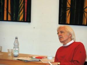 Ulrich Duchrow bei der Tagung im Januar 2014.
