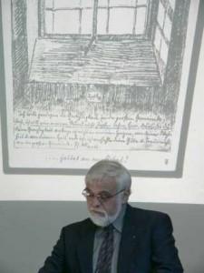 Senior Karl Eberlein bei der Verleihung 2005