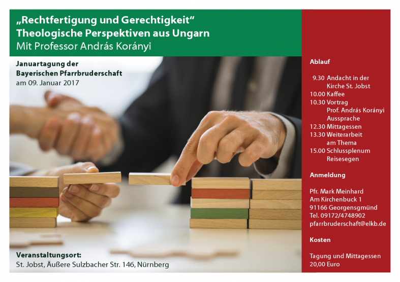 Flyer zur Januartagung 2017